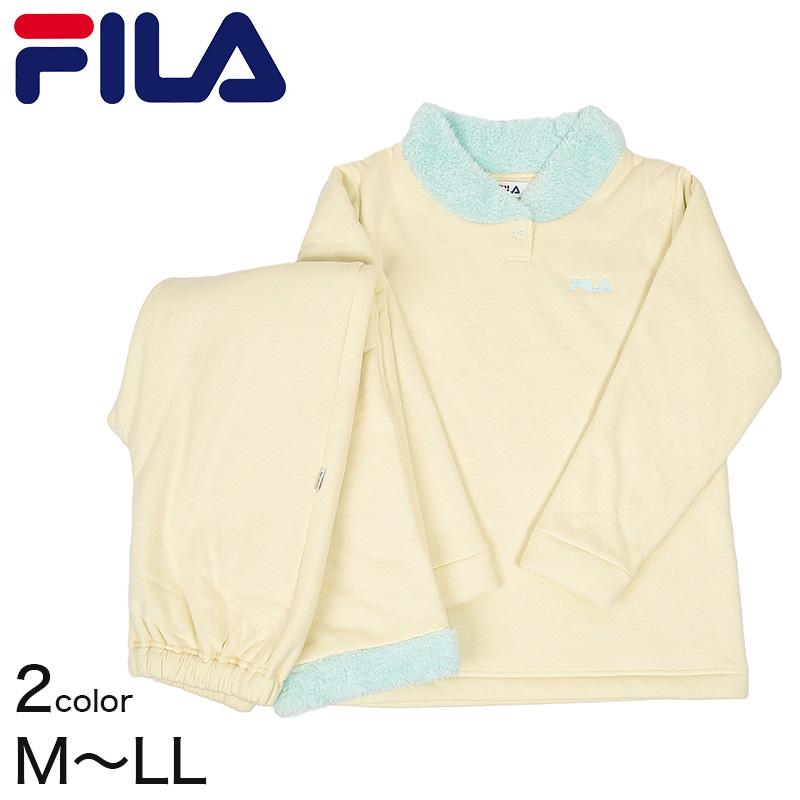 FILA レディース ホームウェア 長袖+長パンツ M〜LL (GUNZE 婦人 女性 長袖 ルームウェア パジャマ)