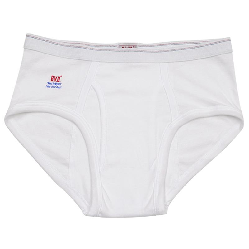 BVD メンズブリーフ 綿100% 7枚セット LL (コットン 前開き 下着 肌着 インナー 男性 紳士 パンツ ボトムス 白 ホワイト 大きいサイズ)
