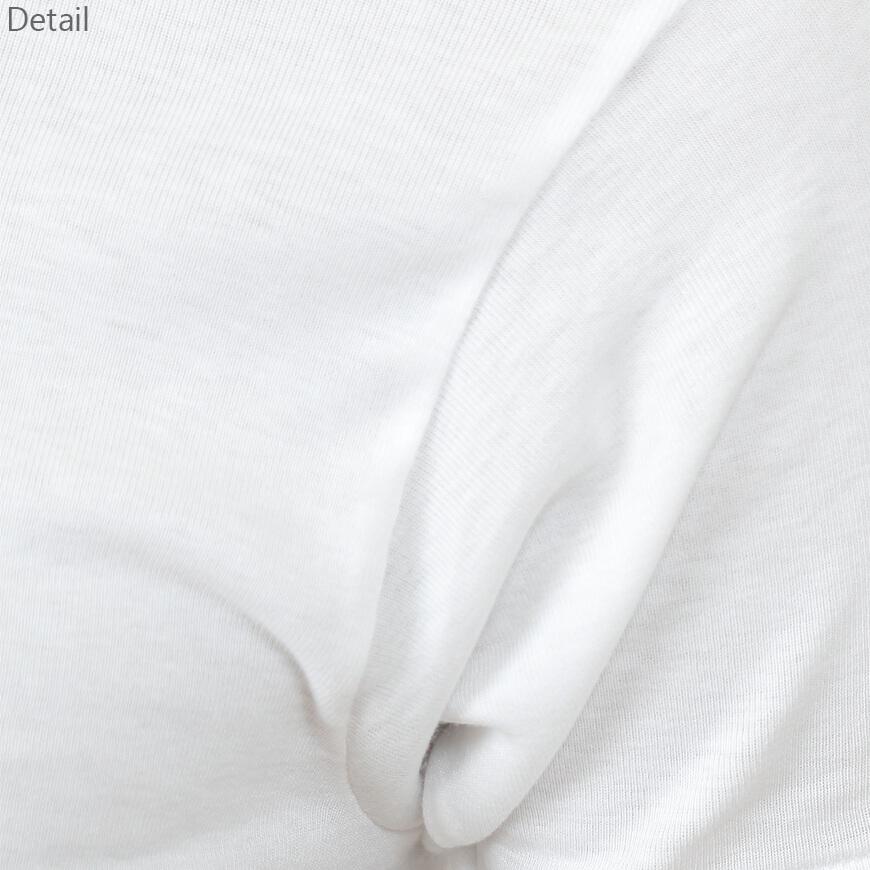 BVD メンズ 半袖丸首シャツ Finest Touch EX 綿100% LL (インナー クルーネック 下着 男性 紳士 白 コットン ホワイト 大きいサイズ)