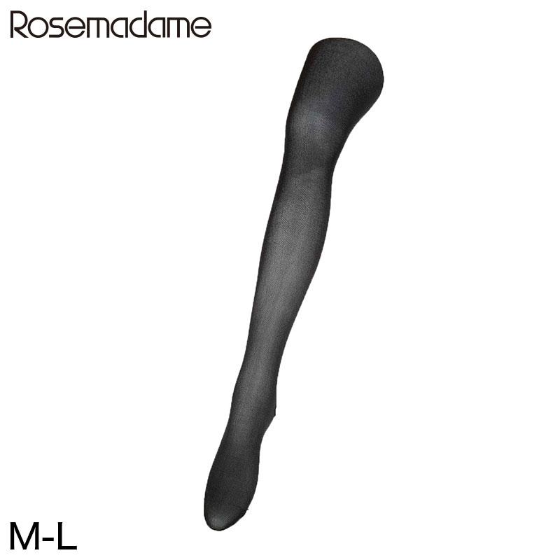 ローズマダム 幅広マチの80デニールマタニティタイツ 2枚組 M-L (スパッツ レギンス インナー)