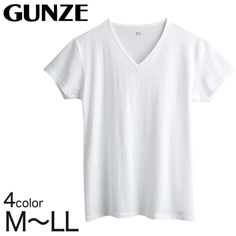 YG DRY&COOL Vネック メンズTシャツ